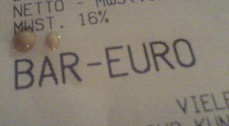 Bär Euro